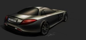 mercedes SLR Mclaren by judgemental541