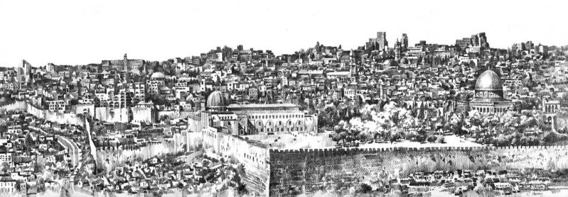 Jerusalem panorama by Zawij