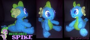 Recolored Spike the Dragon by Lunarchik13