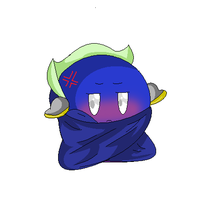 Maskless Meta Knight by MetaKnight92