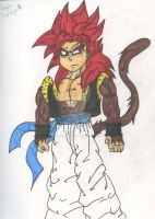 Gogeta Super Saiyan 4 by FantasyRebirth96