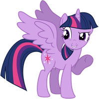 Vector Alicorn Twilight Sparkle by KyssS90