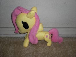 Fluttershy Plushie by Bunnygirl2190