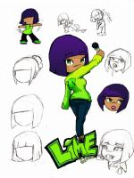 Lime reference... by Chrissy-Christine