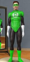 Green Lantern in The Sims 3 by bubble0flame
