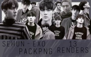 +PNG||Sehun||EXODUS Concept|| by StayInTheGalaxy