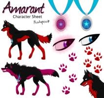 Amarant - Character Sheet by MissAgness