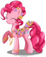 May Festival Pony - Pinkie Pie by selinmarsou