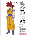 [DBMX] Goku, The Saiyan from Earth by Cheetah-King