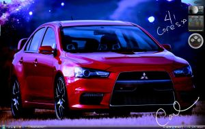 War Evo X Desktop by carlusdarienus
