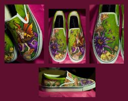 Fairy Custom Shoes by Erobern