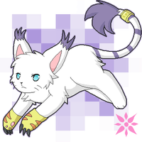 Gatomon .::. Tailmon by Zeiky