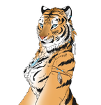 Tiger by Silenthowl7