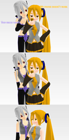 _MMD_ Neru's phone problem by xXHIMRXx