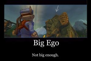 Big ego? naw by whitedragonguardian