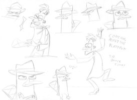 Road to Danville Sketchdump by SecretagentG