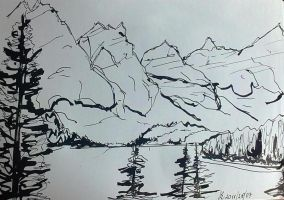 Mountains by Dania987