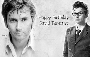 Happy 42nd Birthday David Tennant by tjevo9
