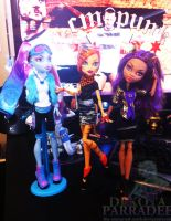 Monster High Club Fashions by Chibi-Warmonger
