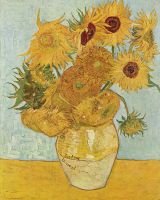 Van Gogh's Sunflowers with for Amy (Doctor Who) 1 by rrpjdisc