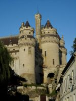 Pierrefonds Castle - Tour Artus by MorgainePendragon
