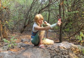 Ordon Link shooting the breeze by VFire