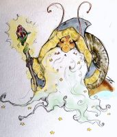 The Wizard Snail by NienorGreenfield