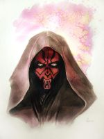 Star Wars Darth Maul by MikeKretz