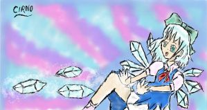 THO Cirno by colorfulldrawer