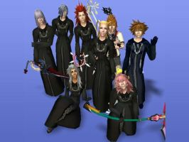My organization XIII sims by ShadowRoseVIII