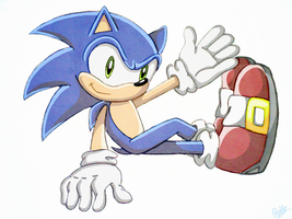 Sonic X style by PokeSonFanGirl
