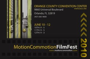Motion Commotion - Poster by blankearthdesign