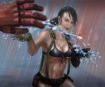 [MGSV] Quiet in the Rain by Athena-Erocith