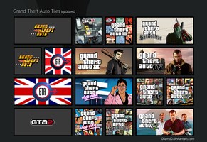 Grand Theft Auto Tiles by 0liamd0