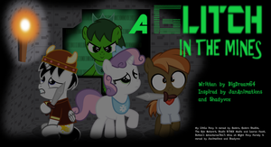 A Glitch In The Mines Poster by BigDream64