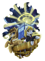 Dr. Whooves by 1Jaz