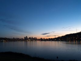 lake union sunset by crazytmac