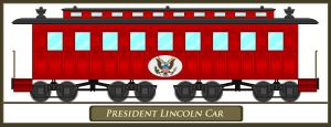 President Lincolns Funeral Car by Eddie-Sand
