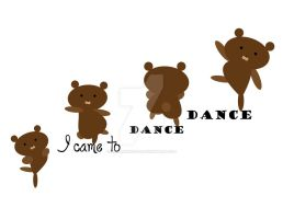 'I Came to Dance' Clipart by nenalinda82pr