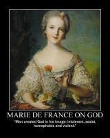 Marie de France on God by fiskefyren