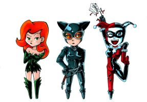Gotham Girls by ShadowKira