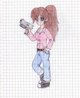 Left 4 Dead Zoey by Siughius