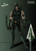 Green Arrow by Nezotholem