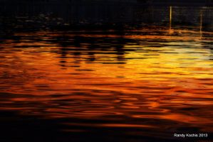 Sunset Reflection Photo Effects by digitalabstract