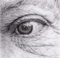eye study by Nanalovesdrawing