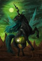 MLP - Chrysalis, the Changeling Queen by fiszike