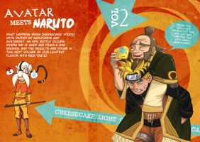 Naruto vs Avatar by daliciously