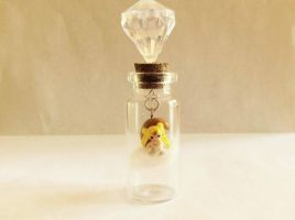 Princess Serenity in a bottle by AlphaChoconess95