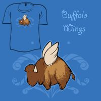Woot Shirt - Buffalo Wings by fablefire
