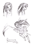 Scarecrow Sketches by Spectra-Sky